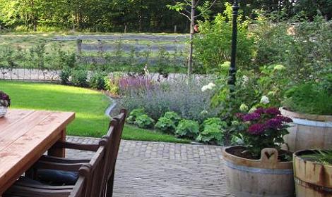 tuin door damink tuin en landschap